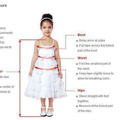 Two Piece Flower Girl Dresses One S..